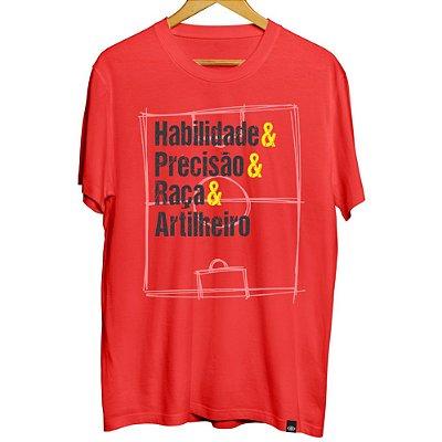 Camiseta Habilidade e Precisão