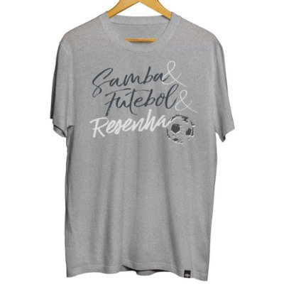 Camiseta Samba, Futebol e Resenha