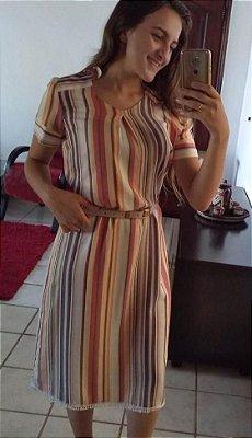 Vestido Chemise Em Linho Roupas Evangelicas