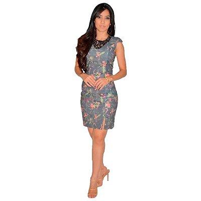 Vestido Dress Tubinho Tipo Joyaly Roupas Evangelicas