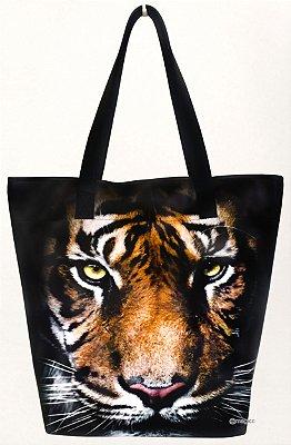 Bolsa Feminina Impermeável com Estampa Tigre