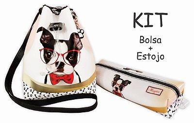 Kit Infantil Cachorrinho com Óculos
