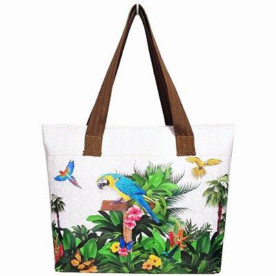 Bolsa Feminina Tropical com Araras, Magicc