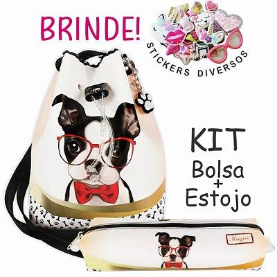 Kit Infantil Cachorrinho com Óculos, Magicc
