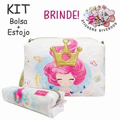 Kit Infantil Rainha Sereia, Magicc