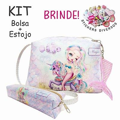 Kit Infantil Sereia Feliz, Magicc