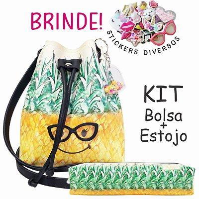 Kit Infantil Abacaxi com Óculos, Magicc