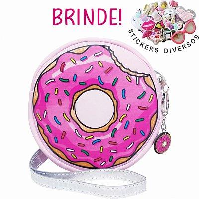 Bolsa Infantil Donuts Rosa, Magicc