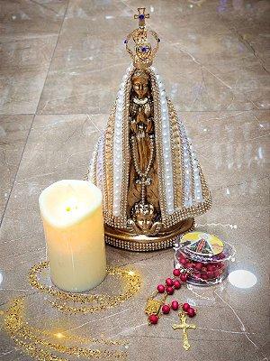 Kit altar Nossa Senhora Aparecida