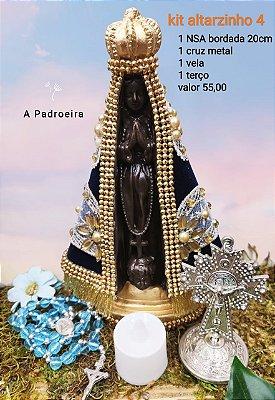 Kit Altarzinho da Mãe Aparecida (modelo 4)