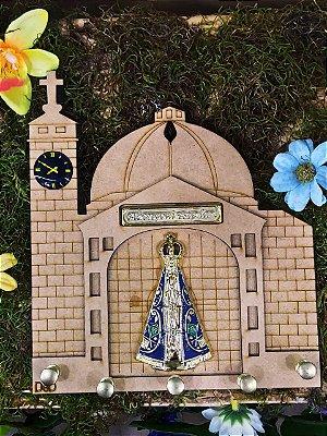 Porta Chaves Basílica de Nossa Senhora (disponível em duas cores)