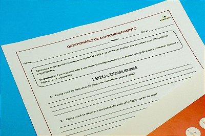 Questionário de Autoconhecimento para Adolescentes- Kit com 5