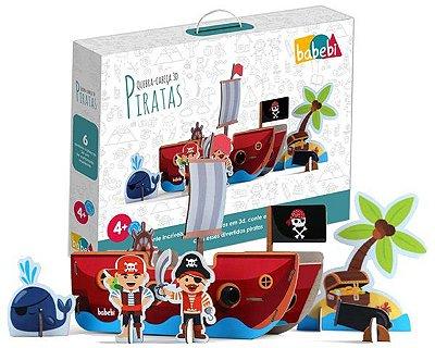 Quebra-cabeça 3D Pirata