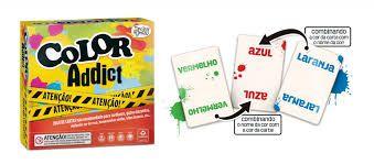Jogo de Cartas Color Addict