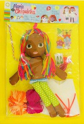 Boneca Maria Chiquinha Negra