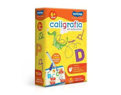 Caligrafia - Kit educativo