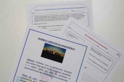 Combo Adolescente de Materiais de Intervenção em Psicologia / Psicopedagogia - Produto Digital