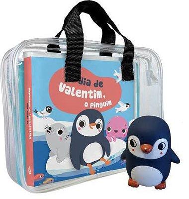 O dia de Valentim, o pinguim