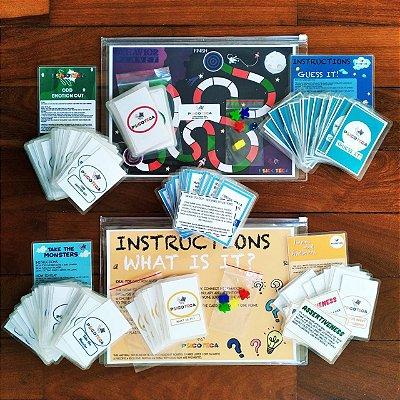Combo  Jogos da Psicoteca em Inglês