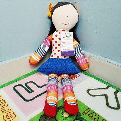 Boneca Gabi em Tecido de Malha