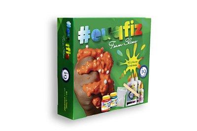 Kit para  duas Slimes Foam ( bolinhas de isopor)