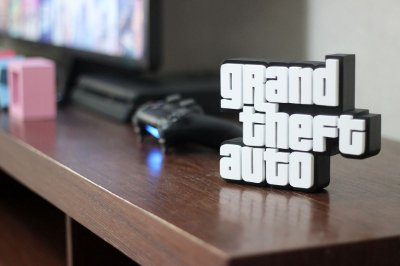 PLACA DECORATIVA - GTA
