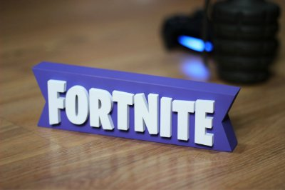PLACA DECORATIVA - FORTNITE