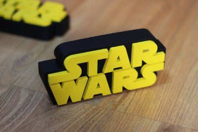 PLACA DECORATIVA - STAR WARS