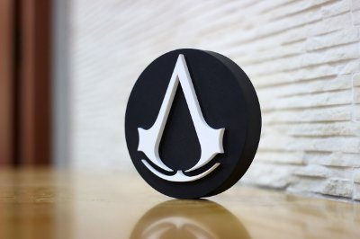 PLACA DECORATIVA - ASSASSIN´S CREED
