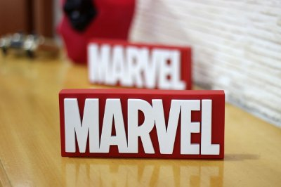PLACA DECORATIVA - MARVEL