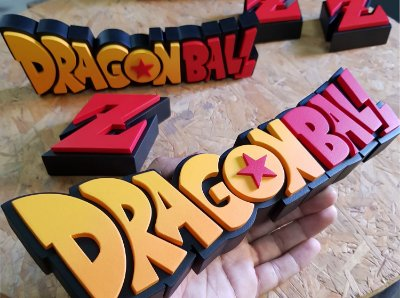 PLACA DECORATIVA - DRAGON BALL Z