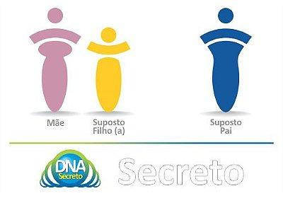 Teste de Paternidade TRIO - 3 amostras (Mãe, Suposto(a) Filho(a) e Suposto Pai)