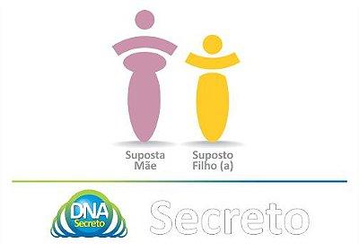 Teste de Maternidade DUO - 2 amostras (Suposta Mãe e Suposto(a) Filho(a))