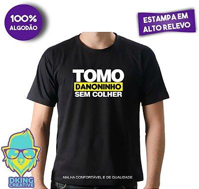 Camiseta Tomo Danoninho Sem Colher - Estampa em Alto Relevo