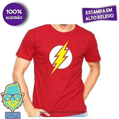 Camiseta Super Herói Flash