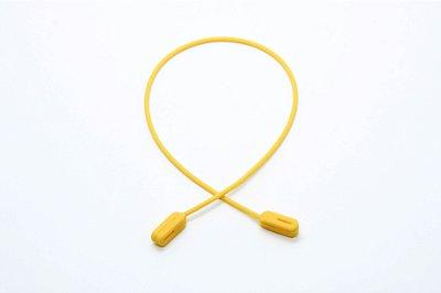 CORRENTE SICUREZZA SILICONE Modelo: GRIP JÚNIOR cor Amarelo