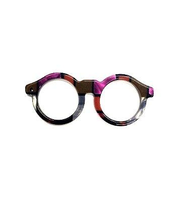 PINGENTE OCCHIALINI Modelo: OCLINHOS Cor Mondrian