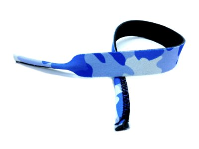 CORDÃO de Neoprene Adulto CAMUFLADO cor Azul