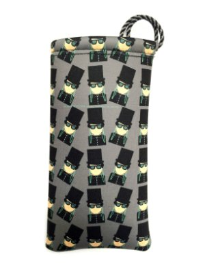 ESTOJO Neoprene Modelo: Usdra Black Tie cor Cinza