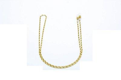CORRENTE Metal ESPECIAL Modelo 3737 Cor Ouro
