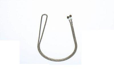 CORRENTE Metal ESPECIAL Modelo 14740 Cor Níquel Diamantado