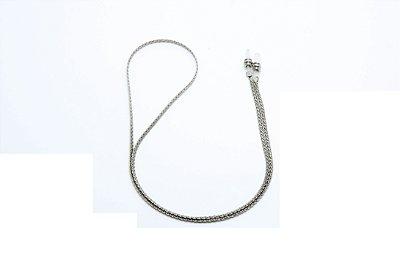 CORRENTE Metal ESPECIAL Modelo L3333 Cor Níquel