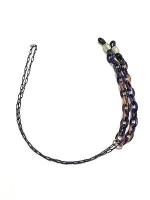 CORRENTE CATENELLE Acetato Modelo: MOD1-M-ADZ005 cor Púrpura
