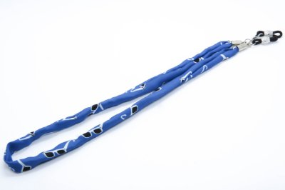 CORRENTE TECIDO F Modelo: STRACCIATTINA cor Azul