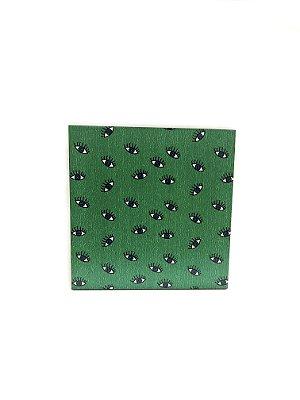 PORTA COPOS_Kit com 06 unids. Modelo: OLHO VIVO cor Verde
