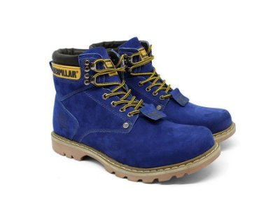 Bota Caterpillar Second Shift Azul Bic
