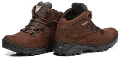 BOTA ACERO TREKING ADVENTURE COURO ANIMAL - CAFÉ