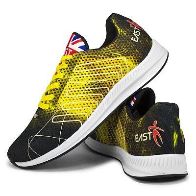 Tênis Esporte East Shoes Cronos Amarelo