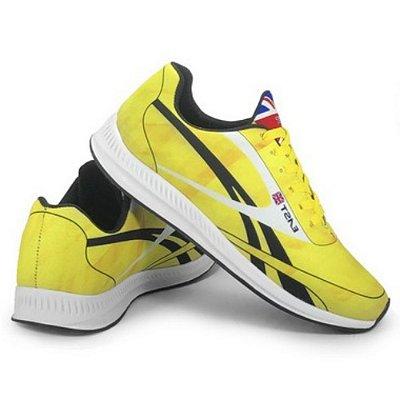 Tênis Esportivo East Shoes Jaguar Amarelo
