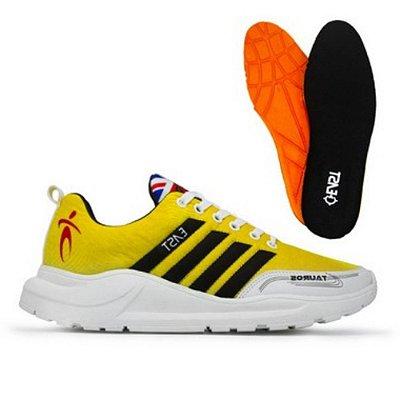 Tênis Esporte East Shoes Tauru Advanced Amarelo
